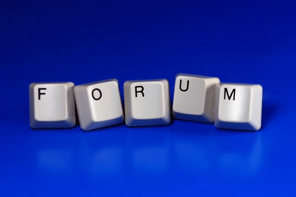 promote your blog on forums