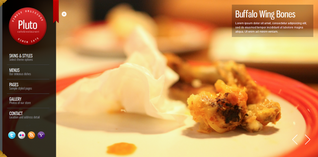 Pluto: Fullscreen Cafe and Restaurant