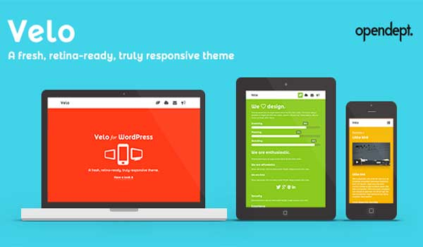 Velo - A fresh, Retina-Ready and Responsive Theme