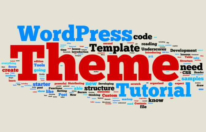 create wordpress theme tutorial