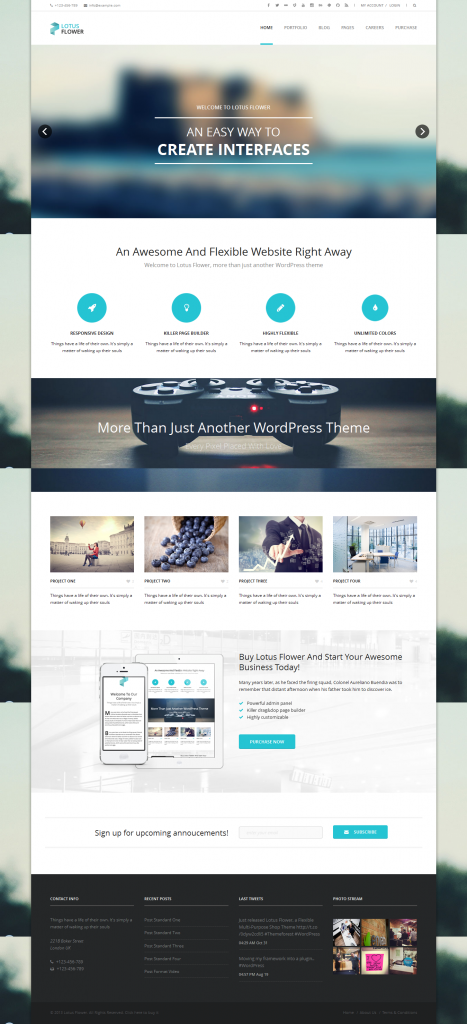 Lotus Flower: Flexible Multi-Purpose Shop Theme