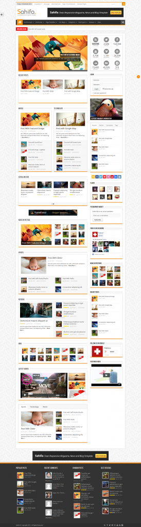 Sahifa: Responsive WordPress News, Magazine, Blog