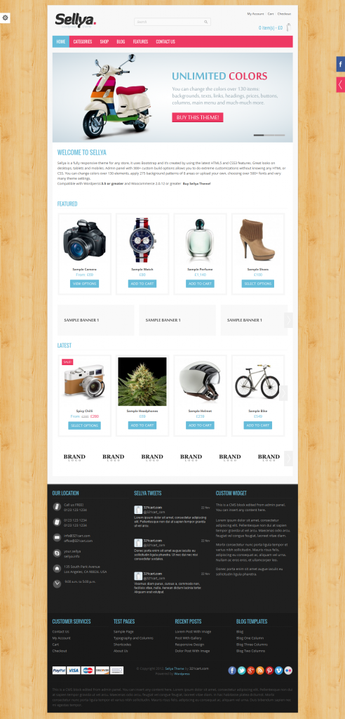 Sellya: Responsive WooCommerce WordPress Theme