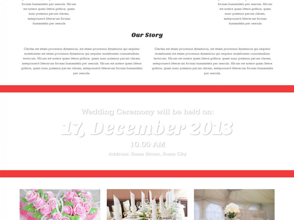 Heart Wordpress Wedding Theme