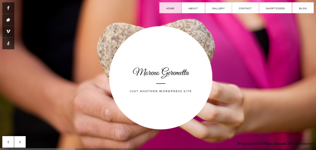 Moreno: Responsive Wedding WordPress Theme