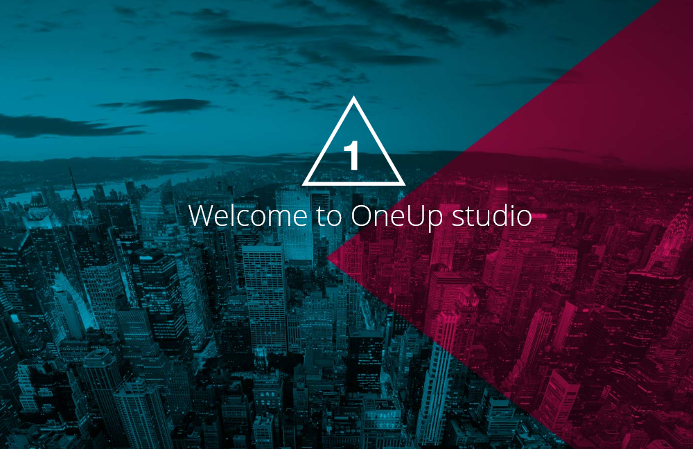 OneUp: One Page Parallax Retina WordPress Theme
