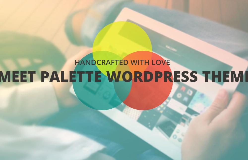 Palette: One Page Parallax WordPress Theme