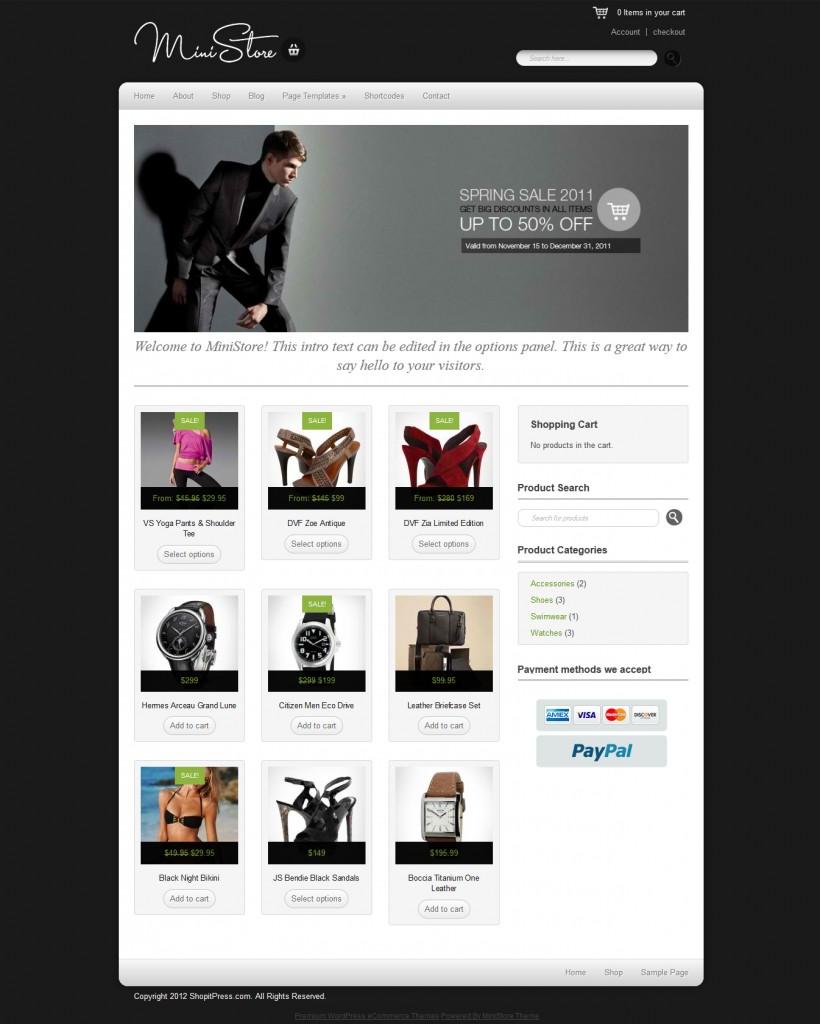 shopitpress.com ministore review