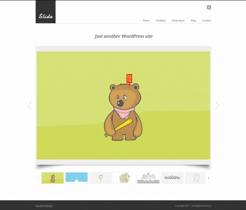 Slide - Premium WordPress Portfolio Theme