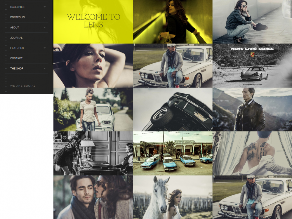 LENS: An Enjoyable Photography WordPress Theme