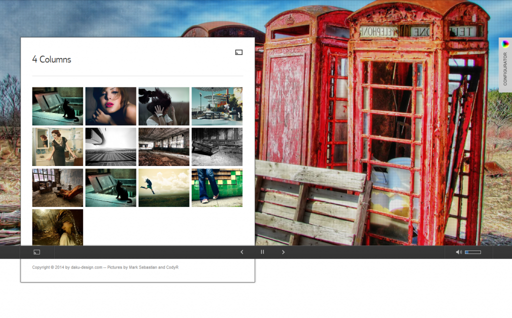 PhotoEclipse: Ajax Powered Portfolio WP Theme