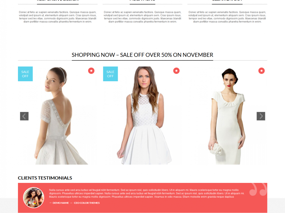 FashionZozza: WooCommerce WordPress Theme