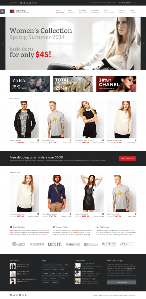 Shopper: Multi-Purpose Woocommerce WordPress Theme