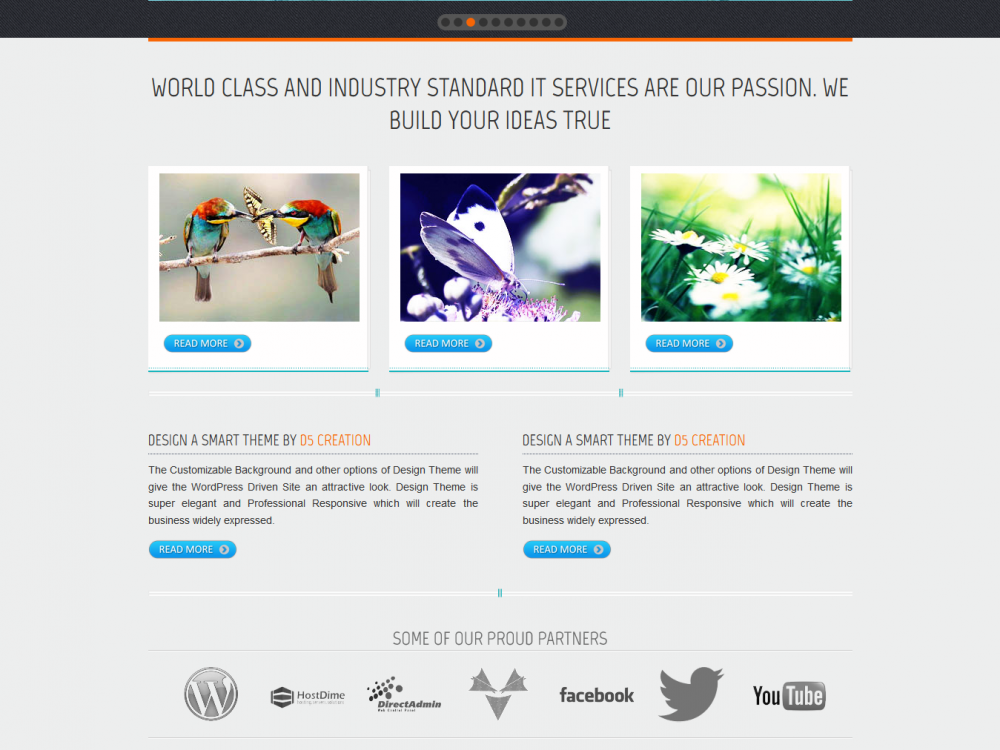 Design: Free eCommerce WordPress Theme