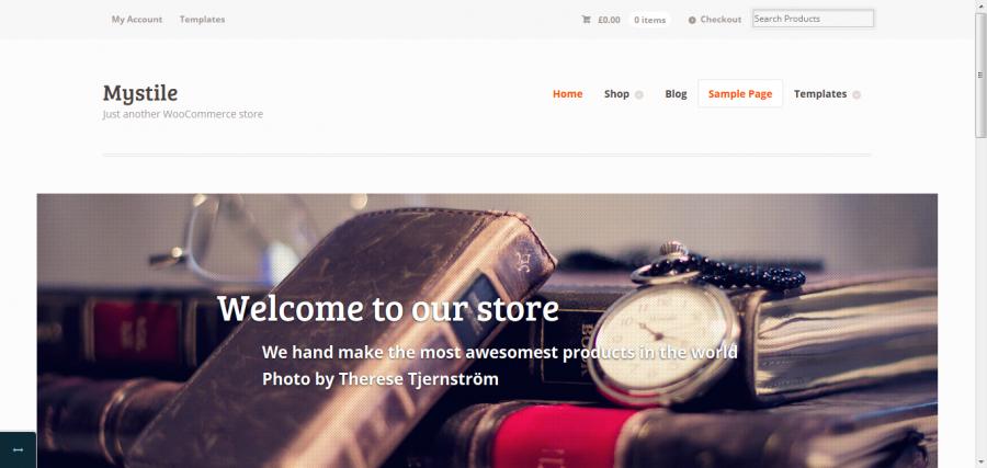Mystile: Free eCommerce WordPress Theme