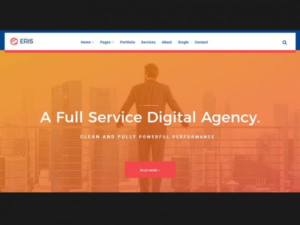 Eris - Business Corporate and Portfolio HTML Template